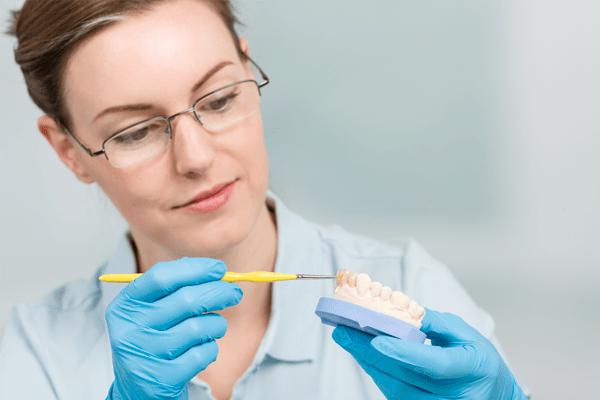 denti provvisori lavorazione